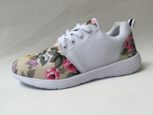 Unique Design Wholesale Flynit Upper Women Shoes Sport Shoe