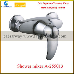 Sanitary Ware Wall Mounted Chrome Shower Mixer pictures & photos