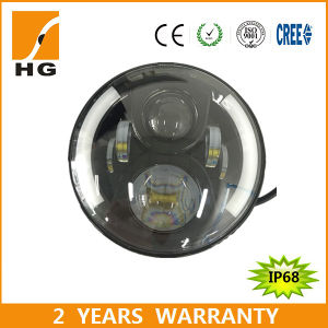 7′′ High Low Beam Driving Light DRL Front Light 10-30V LED Headlight pictures & photos