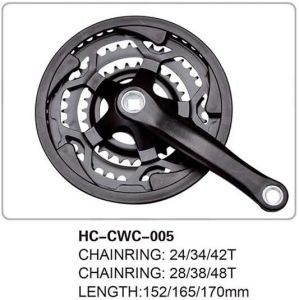 New MTB Chainwheel & Crank Cwc Crankset Hongchi Bicycles Parts Hc-Cwc-005 pictures & photos