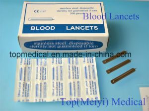 Blood Lancets Twist Lancets/Stainless Steel pictures & photos