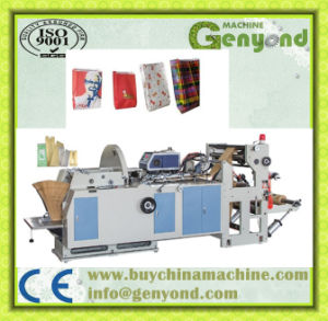 High Efficiency Food Paper Bag Making Machine pictures & photos