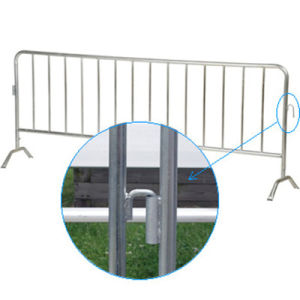PVC Crowd Control Barrier for Road pictures & photos
