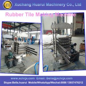 Rubber Tiles & Bricks Making Machine/Rubber Mats Production Line pictures & photos