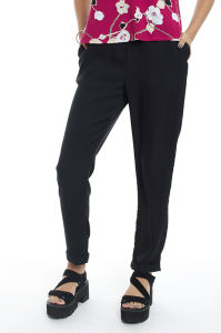 High Quality Women′s Turn-up Cuff Fashin 3/4 Long Pants pictures & photos