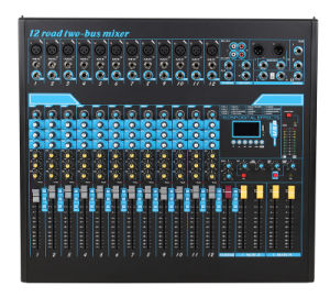 New Product /Mixing Console/Mixer/Soud Mixer/Professional Mixer /Console/Sound Console/Brand Mixer Cl-12fx pictures & photos