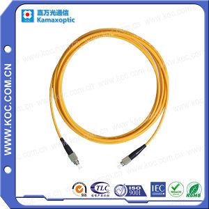 Sc-FC Fiber Optic Patch Cord (SC / PC-FC / PC-SM-SX-3.0mm-2M) pictures & photos