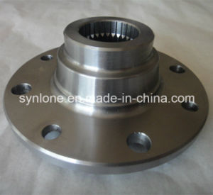 OEM Stainless Steel Automotive Forged Flange with CNC Machining pictures & photos
