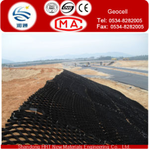 Low Price 50% Recycle PE Geocell for Retaining Wall pictures & photos