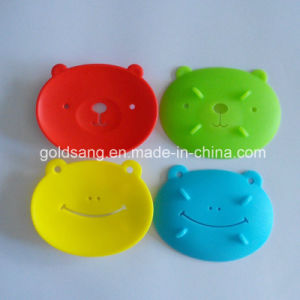 New Fashion Design Cute Frog Shape Silicone Soap Holders pictures & photos