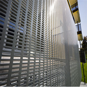 Dust and Wind Proof Wall Flexible Perforated Metal pictures & photos