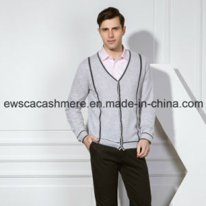 Men′s Gentle Striped Pure Cashmere Sweater