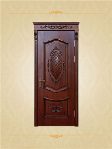 High Quality Solid Wood Material Unique Design Doors