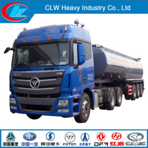 Foton 3 Axle Chemical Liquid Semi Trailer with Tractor pictures & photos