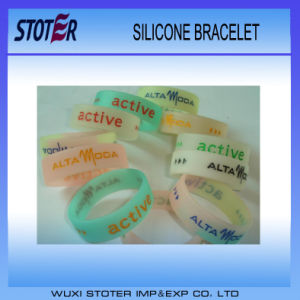 2016 Cheap Wholesale Silicon Wristband pictures & photos