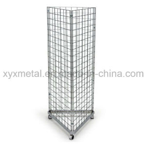 Exhibition Equipment Supermarket Pegboard Floor Display Rack for Power Tools pictures & photos