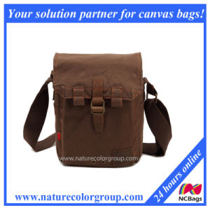 Men′s Small Canvas Casual Messenger Bag (MSB-024) pictures & photos