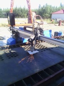 Flexible Beam CNC Plasma Flame Cutter Cutting Machine Factory pictures & photos
