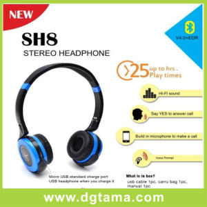 Anti-Noise Wireless Bluetooth Headphones for Laptop with Handsfree Music pictures & photos