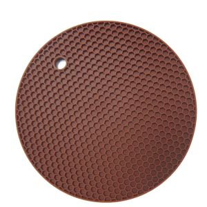 Newest Design Honeycomb Heat Resistance Silicone Placemat pictures & photos