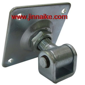 White Galvanized Square Welding Hinge for Sliding Gate pictures & photos