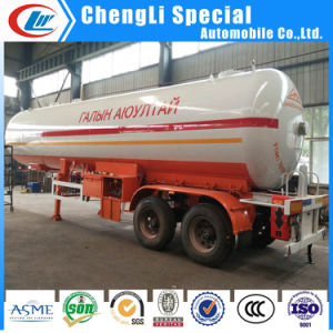 3 Axles 40.5cbm LPG Cooking Gas Tank LPG Semi Trailers 20tons for Low Price pictures & photos