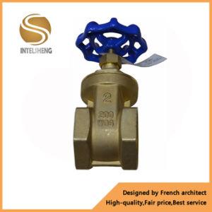 Dn50 Dn32 200 Wog Brass Stem Water Gate Valve pictures & photos