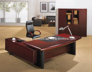 Luxury Melamine Wooden Table Top Executive Office Desk (HX-FCD057) pictures & photos