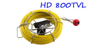 Waterproof 23mm Video Pipe Inspection Camera Cr110-10g with 10′′ Digital LCD Screen & DVR Video Recording with 20m to 100m Fiberglass Cable pictures & photos