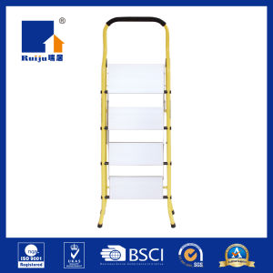 Yellow Aluminum-Steel Stepladder Household pictures & photos