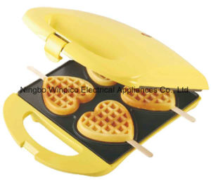 4 Heart Waffle Stick Waffle Maker pictures & photos