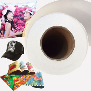 70GSM Jumbo Roll Sublimation Transfer Paper for High Speed Printer pictures & photos