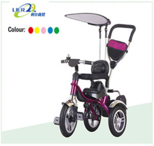 Kids Tricycle Pink Metal EVA Air Babytricycle Cheap Child Tricycle pictures & photos