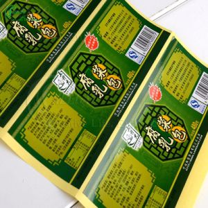 Printing Custom High Quality Stickers Labels (KG-PA040) pictures & photos