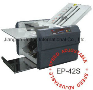 Hot Selling Product Semi-Automatic Paper Folder Folding Machine Ep-42s pictures & photos