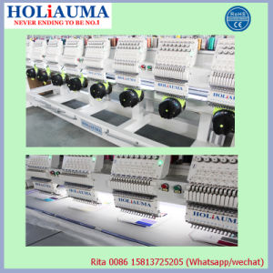 Holiauama 6 Head Computer Embroidery Machine with Hat Clothes T Shirt Embroidery Prices pictures & photos