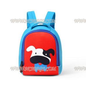 Cute Cartoon Children Student School Neoprene Backpack