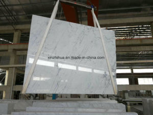 China Chiva White Marble with Grey Vines for Slab/Tile/Conter Top pictures & photos