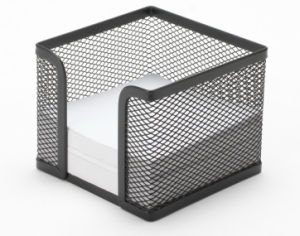 Desk and Office Accessories/ Metal Mesh Stationery Memo Holder/ Office Desk Accessories pictures & photos