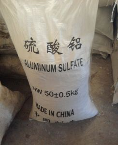 Aluminum Sulfate 17% Free Iron for Water Treatment pictures & photos
