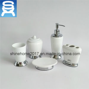 Soap Dish in Chrome for The Bathroom/Porcelain Bath Soap Dish pictures & photos