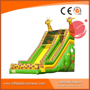 2017 Outdoor Playground Super Giraffe Type Slide T4-209 pictures & photos