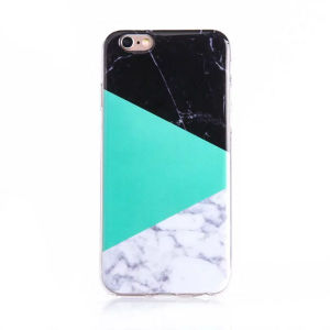 Mobile Phone Cover Contrast Mix Marble TPU Case for iPhone 7 pictures & photos