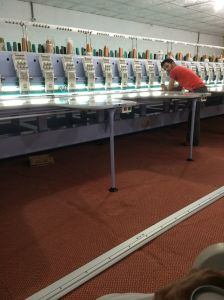 Hye-FL632 Flat Embrodiery Machine with Easy Cording pictures & photos