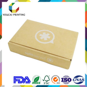 E Fluted Corrugated Box with Screen Printing Logo
