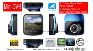 2017 New Private GPS Tracking Car DVR with 2.0inch Car Car Black Box, 5.0inch Car Camera, Parking Control Car Digital Video Recoder DVR-2001 pictures & photos