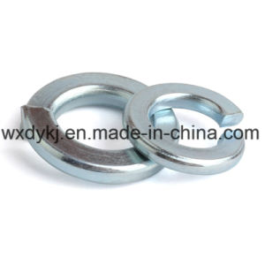 DIN127 Blue White Z/P Steel Spring Lock Washer pictures & photos