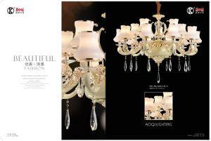 Golden+ Whited Zinc Alloy Die Casting Pendant Light pictures & photos