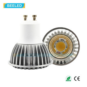 Ce Rhos GU10 3W COB Cool White LED Spot Lamp LED Bulb