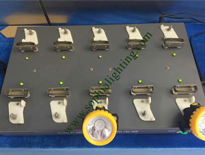 Multi Charger for LED Head Lamp, Cap Lamp Lithium Battery pictures & photos
